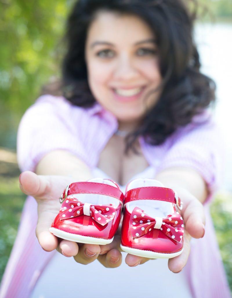 Hello Baby Zwangerschapsfoto's