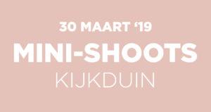 Mini-shoots Kijkduin