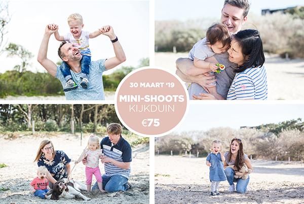 Minishoots familie Kijkduin