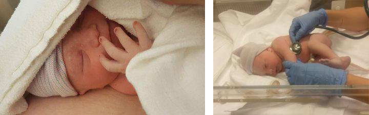 baby pasgeboren